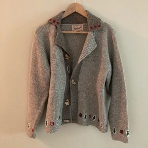 Woolrich Christmas Holiday Wool Silk Sweater Small